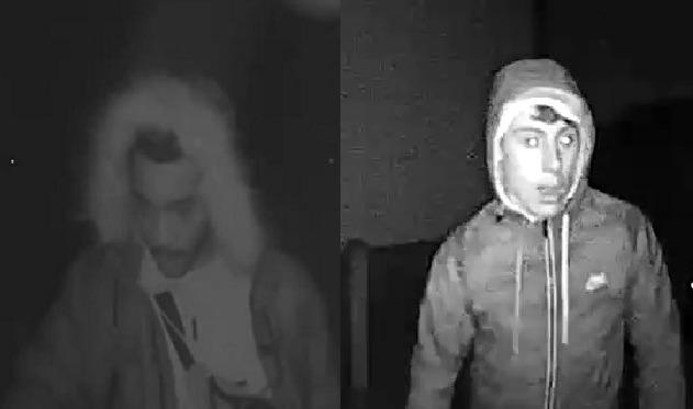 These men are wanted for questioning by police