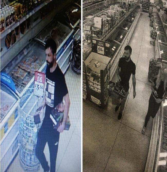 Appeal - Iceland on Canvey has issued these CCTV images