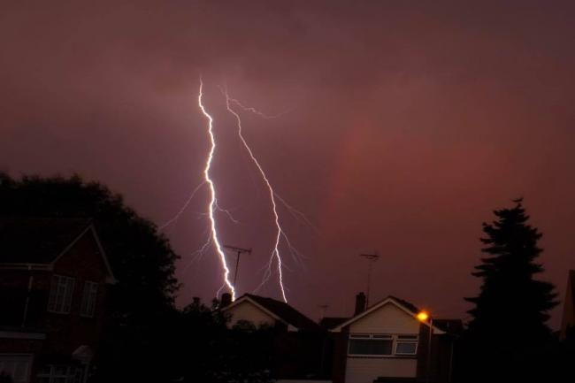 David Jefford took this picture of a storm earlier this year