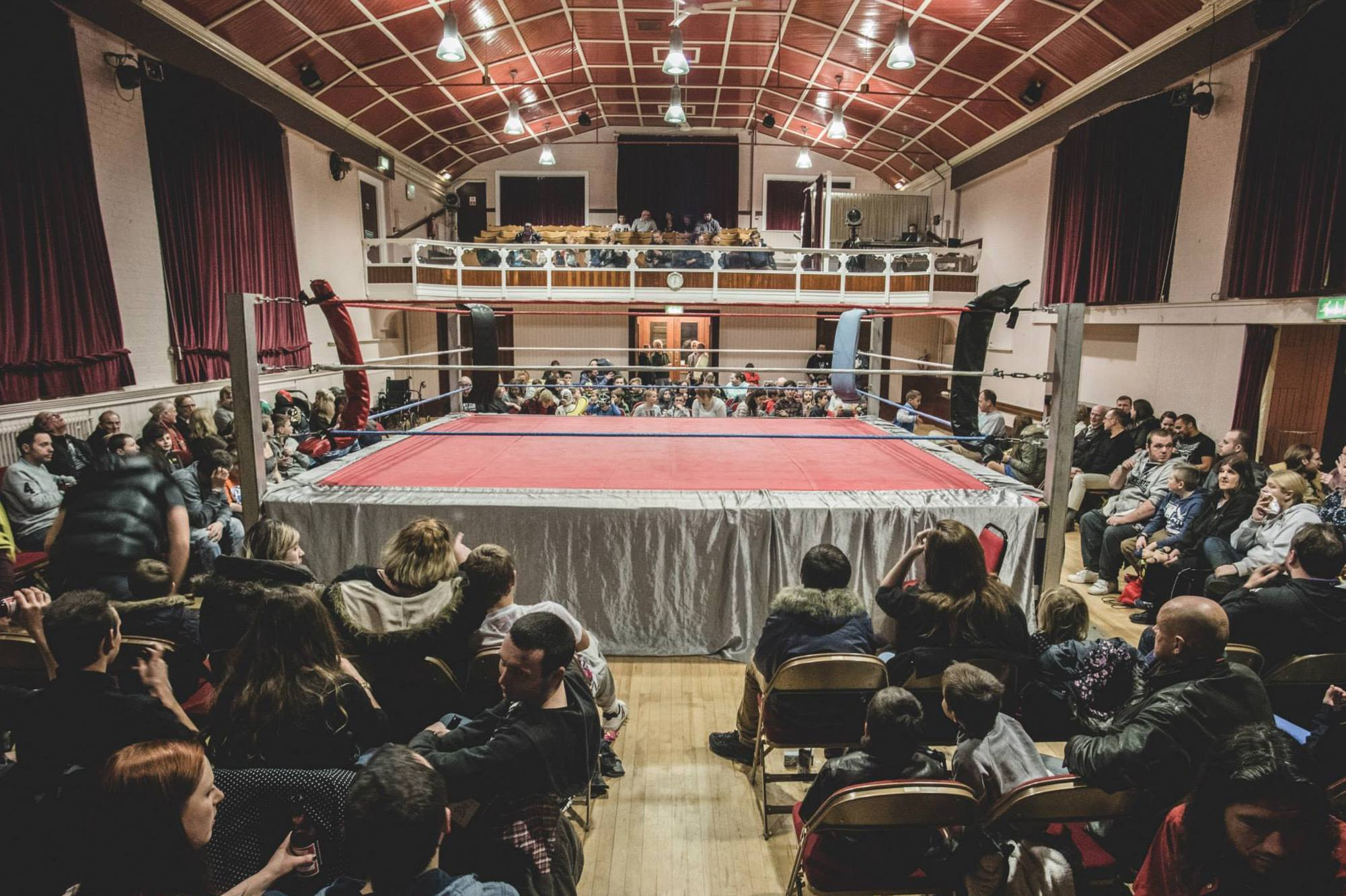 Live Wrestling in Witham, Halloween Havoc!