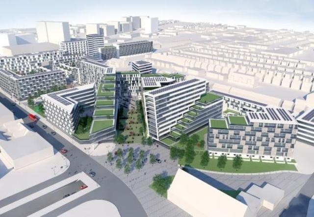 Planned - the Queensway scheme was agreed by the Tories