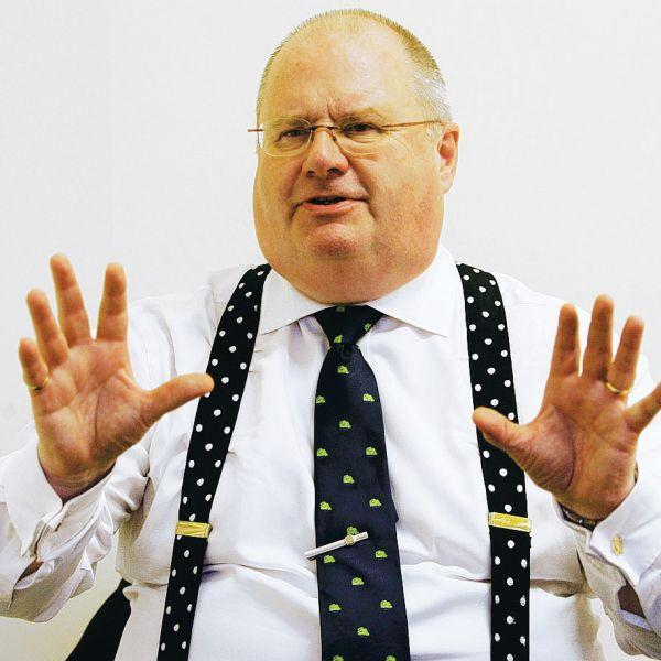 Southend Standard: LOOKING AHEAD: Tory chairman Eric Pickles