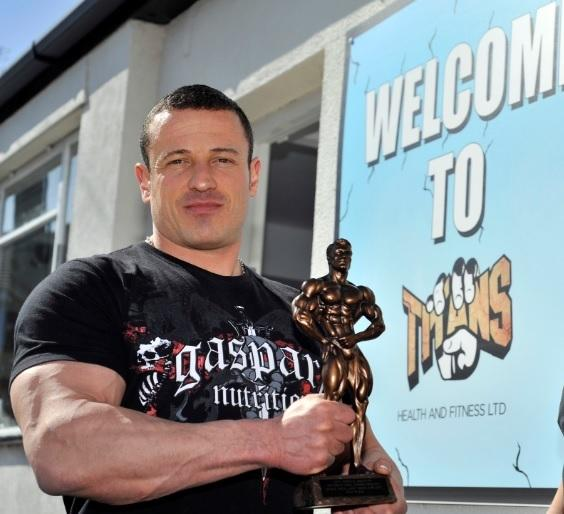 Boss - Christopher Jones at Titans Gym, which has since closed