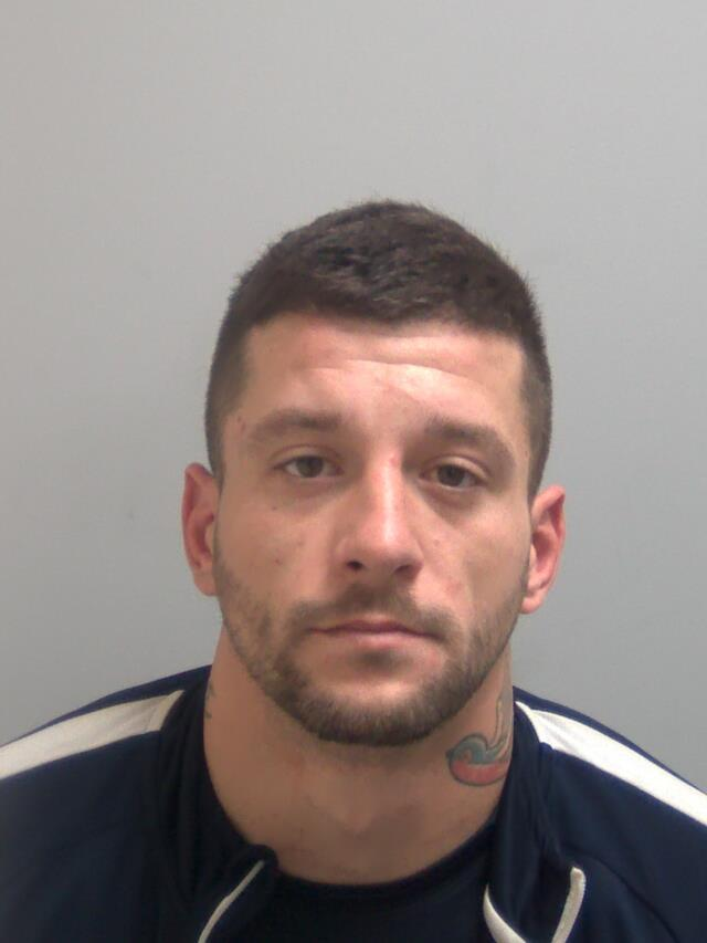 Thug - Michael Norfolk has been jailed