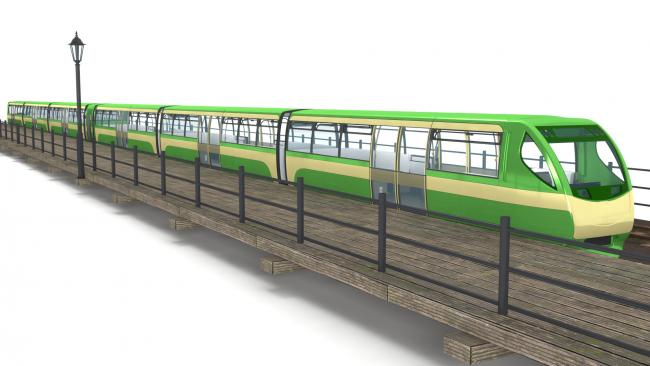 Confirmed designs revealed for new trains on our world famous pier
