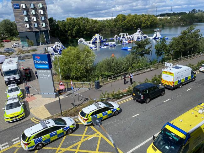 Huge operation to find teen reported missing in Thurrock lake continues