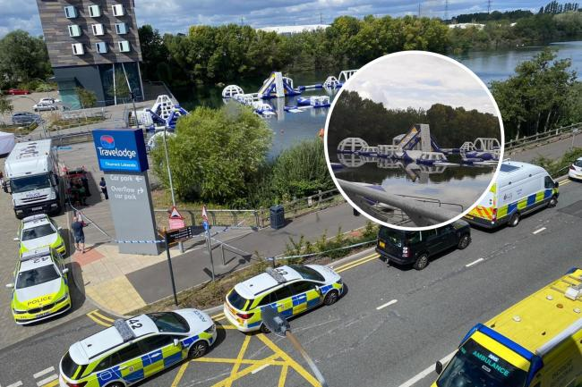 Lake Search: Eyewitnesses react after body is found near Lakeside Shopping Centre