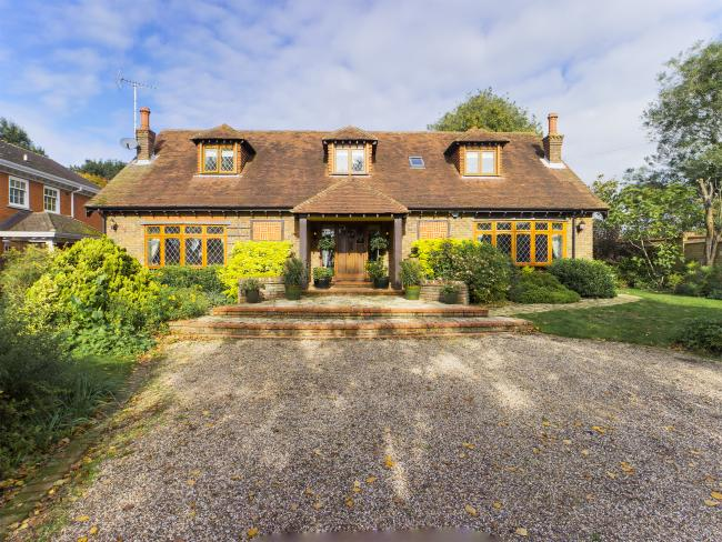 Charming - the property is on the market for £1.15million