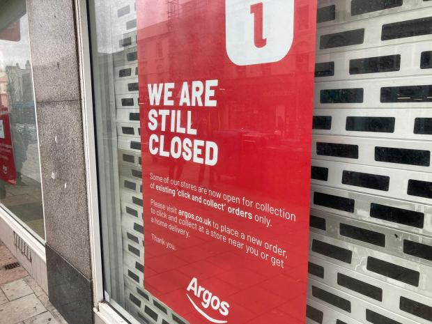Southend Standard: The Argos store in Western Road, Brighton, has closed for good