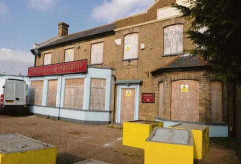 New life – the Crown pub could be converted into a cinema and restaurant