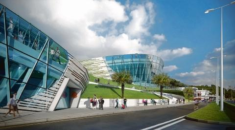 Glimpse into the future – an artist's impression of the museum