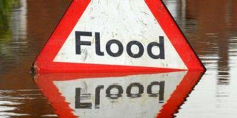 Section of A127 closed due to flood water
