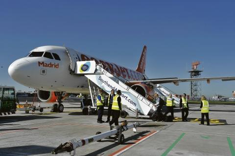Popular – easyJet has done well in its first month at Southend