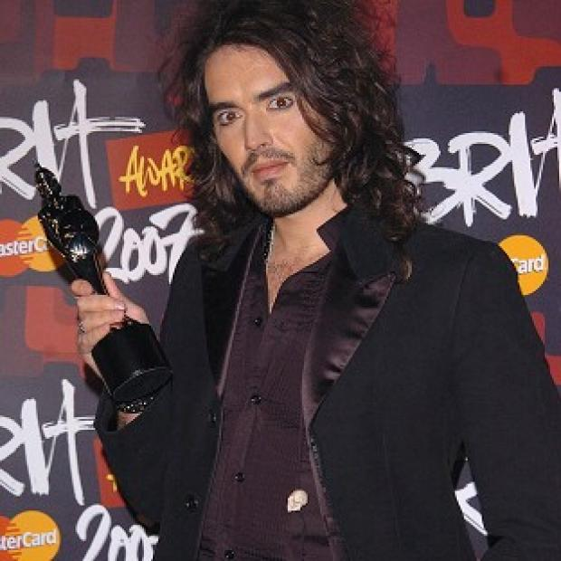 Russell Brand will join the Dalai Lama on stage
