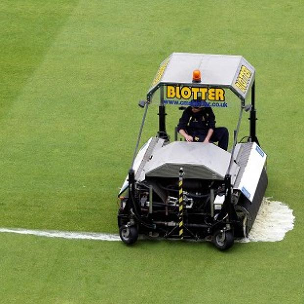 There was nothing the groundstaff could do as the third ODI was rained off