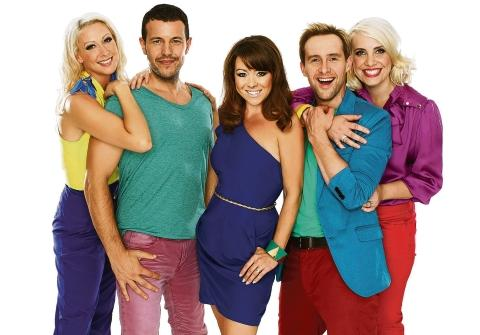 Reunited  – Lisa Scott Lee with her Steps bandmates