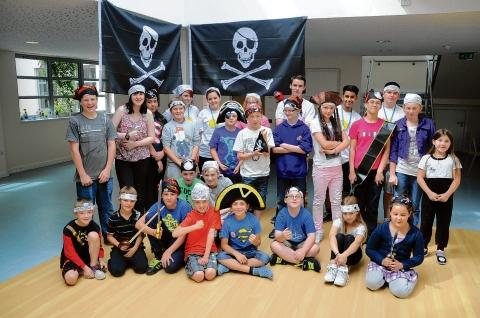 Shiver me timbers – children enjoyed a pirate workshop