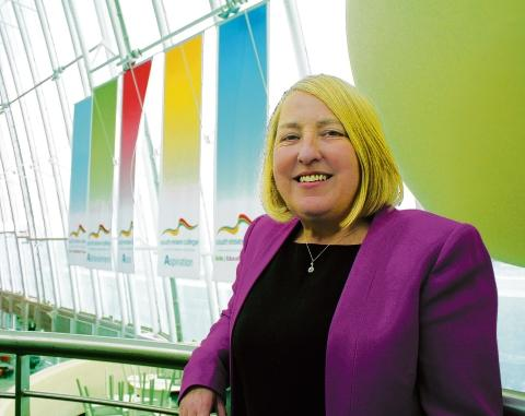 Big job  – South Essex College's new boss Angela O'Donoghue