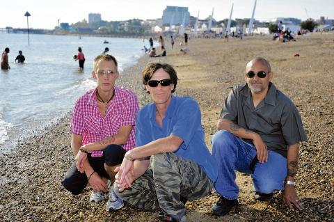 Angling to keep beaches safe – Adam Fincher, Richard McKenna and Danny McPearson are planning safety patrols