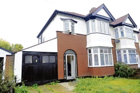 The Shoebury house where cannabis was found