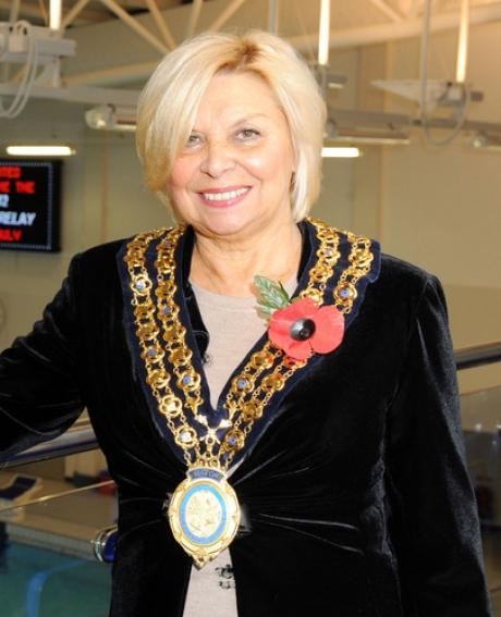 Mayor of Basildon Mo Larkin will receive the British Empire Medal
