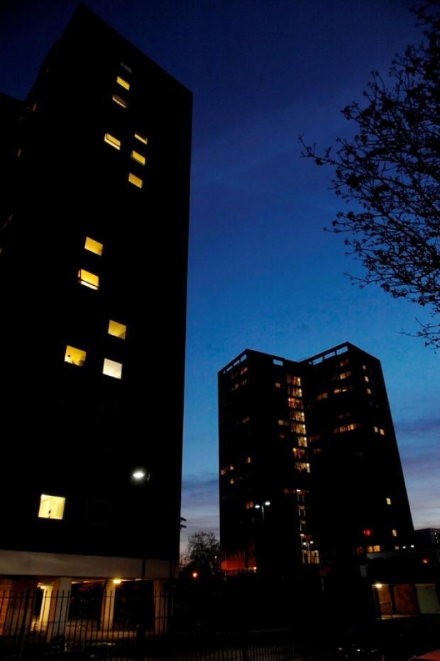Southend's Queensway tower blocks
