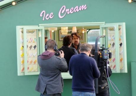Wossy's latest celeb in Southend filming date