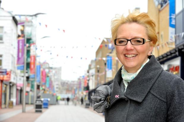 The Town Centre Partnership's Dawn Jeakings