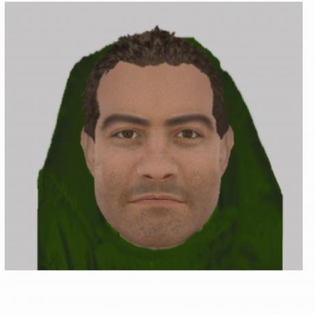 Efit of armed robber released by police