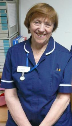 Nurse Jean Colcough - NHS's oldest nurse