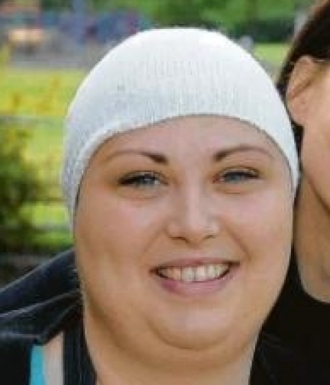 Emma Bruton, 22, from Vange, has just 18 months to live after being diagnosed with a brain tumour the size of an orange.
