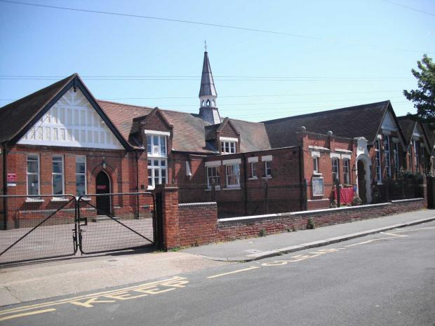 Southend Standard: The old Hinguar Primary School