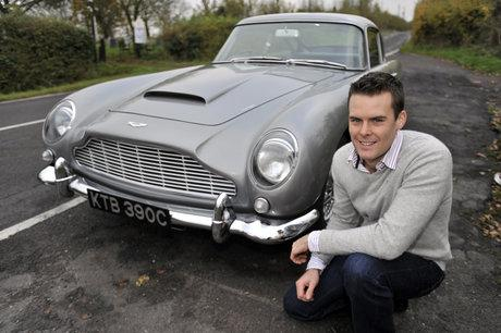 Rochford Bond fan's Aston Martin reaches final of classic car competition