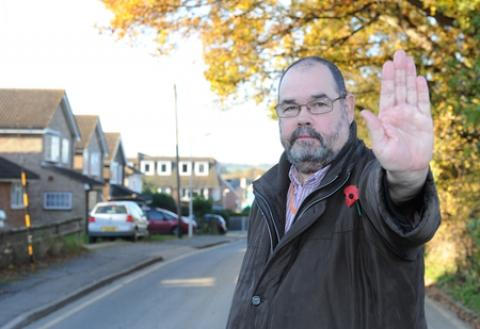 Councillor Michael Mowes is warning residents to be vigilant after a spate of burgla