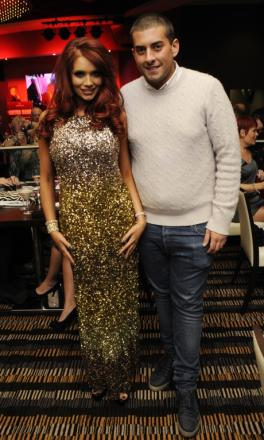 Amy Childs and James