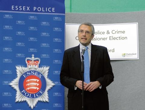 Police and Crime Commissioner Nick Alston.