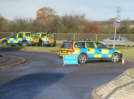 Updated: Motorcyclist killed in A127 pile-up