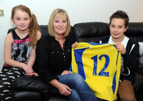 Canvey boy Harry McCartney celebrated turning 12 on 12-12-12