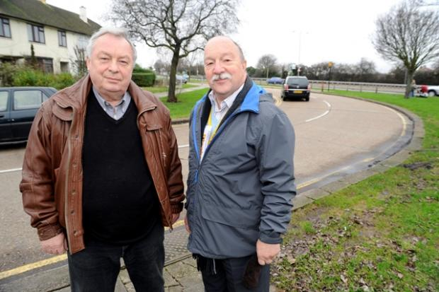 Lib Dem councillors Graham Longley and Duncan Russell