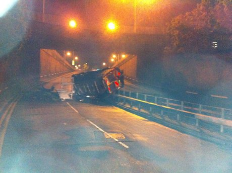 Southend underpass crash driver gets a community order
