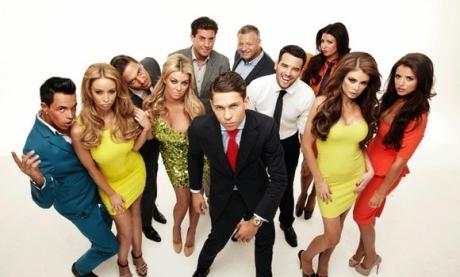 The cast of TOWIE