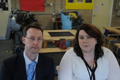 Head of sixth form at the Basildon Academies quits
