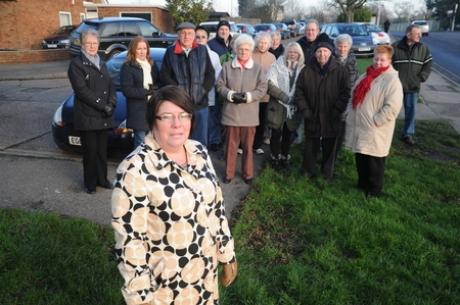 Residents are furious at the continued erratic parking