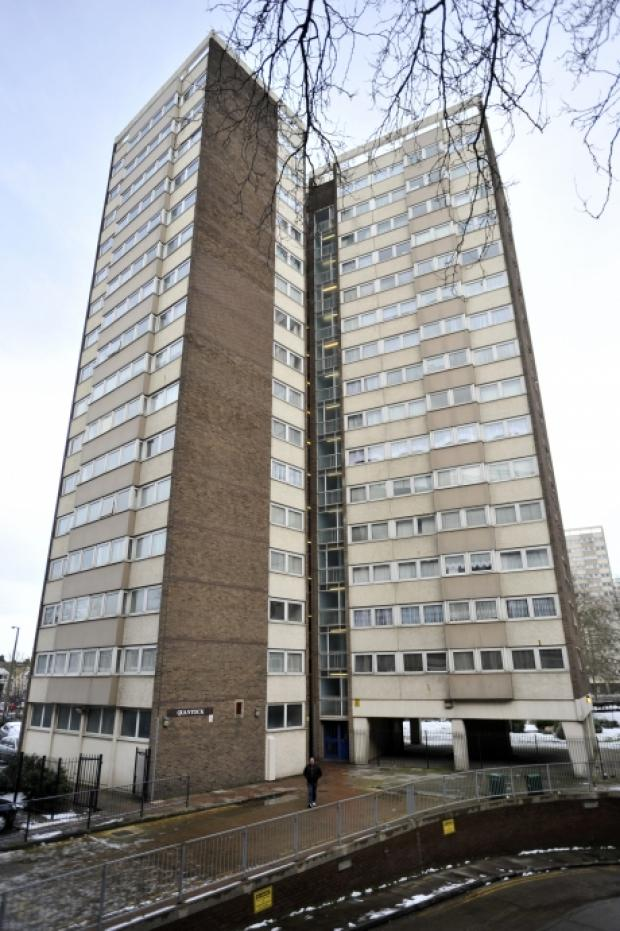 Tower block sniper arrested by police