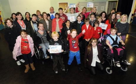 Southend Standard: Charity for disable children set to lose its home