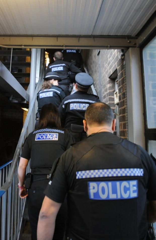 One arrested and one fined as police raid Brooke House