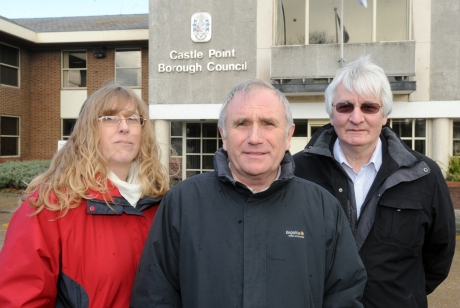 Dave Blackwell, John and Janice Payne are just some of the councillors calling for change