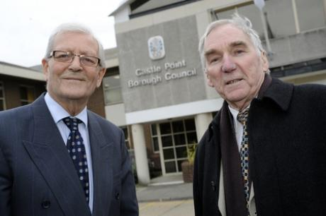 Councillors Bill Dick and Colin Riley