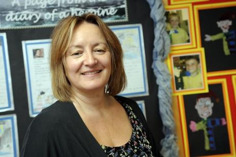 Debbie Rogan says Briscoe Primary Academy is improving