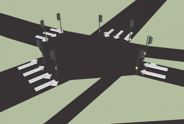 How the new junction might look